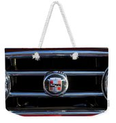 1953 Nash Healey Roadster Hood Ornament Weekender Tote Bag