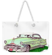1953 Pontiac Chieftain Catalina H.t. Weekender Tote Bag