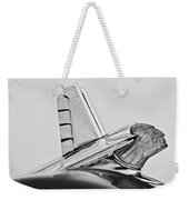 1953 Pontiac Hood Ornament 2 Weekender Tote Bag