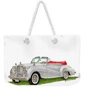 Rolls Royce Silver Dawn 1953 Weekender Tote Bag