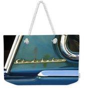 1953 Studebaker Champion Starliner Abstract Weekender Tote Bag