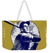 1953 Yankees Dodgers World Series Program Weekender Tote Bag