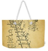 1954 Chainsaw Patent Weekender Tote Bag