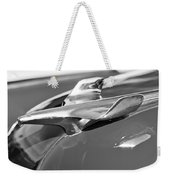 1954 Chevrolet Belair Hood Ornament Weekender Tote Bag