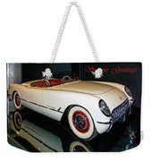 1954 Chevrolet Corvette Convertible Weekender Tote Bag