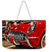 1954 Chevrolet Corvette Number 3 Weekender Tote Bag