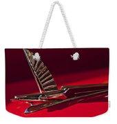 1954 Ford Cresline Sunliner Hood Ornament Weekender Tote Bag