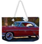 1954 Mercury Monterey Weekender Tote Bag