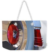 1954 Mercury Monterey Merco Matic Spare Tire Weekender Tote Bag