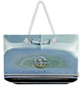 1954 Oldsmobile Super 88 Hood Ornament 3 Weekender Tote Bag