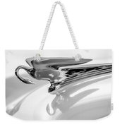 1954 Packard Cavalier Hood Ornament 3 Weekender Tote Bag