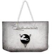 1954 Pegaso Z-102 Saoutchik Coupe Emblem -2218ac Weekender Tote Bag