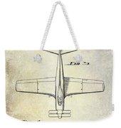 1955  Airplane Patent Drawing 2 Weekender Tote Bag