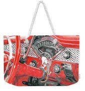 1955 Chevrolet Bel Air Weekender Tote Bag
