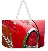 1955 Chevrolet Bel Air Tail Light Weekender Tote Bag