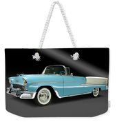 1955 Chevy Bel Air Weekender Tote Bag