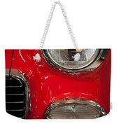 1955 Chevy Bel Air Headlight Weekender Tote Bag