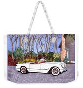 1955 Corvette Six Roadster Weekender Tote Bag