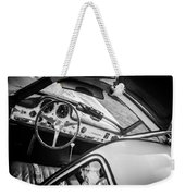 1955 Mercedes-benz 300sl Gullwing Steering Wheel - Race Car -0329bw Weekender Tote Bag