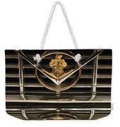 1955 Packard Hood Ornament Emblem Weekender Tote Bag