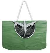 1956 Buick Hood Ornament Weekender Tote Bag