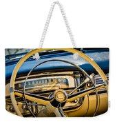 1956 Cadillac Steering Wheel Weekender Tote Bag