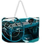1956 Chevrolet Belair Interior Hdr No 1 Weekender Tote Bag