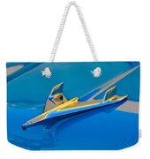 1956 Chevrolet Hood Ornament 2 Weekender Tote Bag