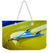 1956 Chevrolet Hood Ornament Weekender Tote Bag
