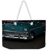 1956 Chevy 210 Weekender Tote Bag