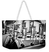 1956 Chrysler Hot Rod Engine Weekender Tote Bag