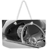 1956 Chrysler Hot Rod Steering Wheel Weekender Tote Bag