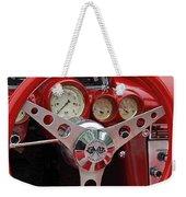 1956 Corvette Dashboard Weekender Tote Bag