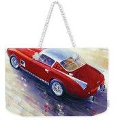 1956 Ferrari 410 Superamerica Scaglietti Series Weekender Tote Bag