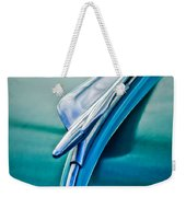1956 Fiat Hood Ornament 2 Weekender Tote Bag by Jill Reger