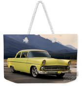 1956 Ford Fairlane Club Coupe Weekender Tote Bag