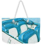 1956 Ford Fairlane Convertible 1 Weekender Tote Bag