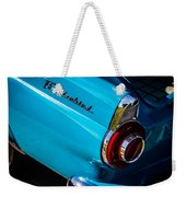 1956 Ford Thunderbird 2 Weekender Tote Bag