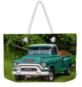1956 Gmc Pickup Weekender Tote Bag