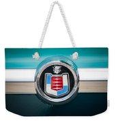 1956 Mercury Monterey Emblem Weekender Tote Bag