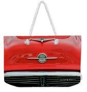 1956 Oldsmobile Hood Ornament 4 Weekender Tote Bag by Jill Reger