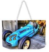 1956 Schroeder Roadster #77 Weekender Tote Bag