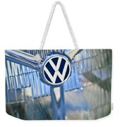 1956 Volkswagen Vw Bug Head Light Weekender Tote Bag
