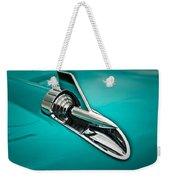 1957 Bel Air Hood Ornament Weekender Tote Bag