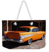 1957 Chevrolet Belair Coupe Weekender Tote Bag