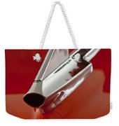 1957 Chevrolet Cameo Pickup Hood Ornament Weekender Tote Bag
