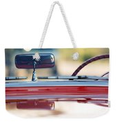 1957 Chevrolet Corvette Convertible  Weekender Tote Bag