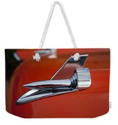 1957 Chevrolet Hood Ornament Weekender Tote Bag