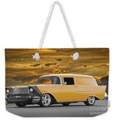 1957 Chevrolet Sedan Delivery II Weekender Tote Bag