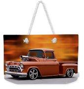 1957 Chevrolet Stepside Pickup Ll Weekender Tote Bag
